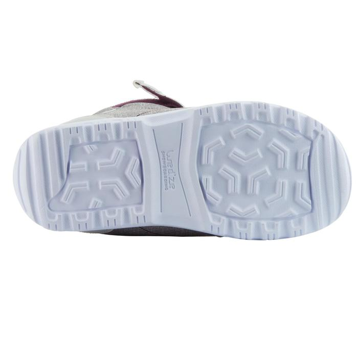 Chaussures de snowboard, all mountain, femme, Maoke 300 - Fast Lock 2Z, blanches - 1178770