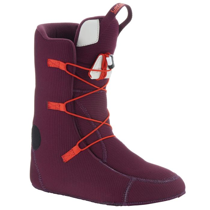 Chaussures de snowboard, all mountain, femme, Maoke 300 - Fast Lock 2Z, blanches - 1178771