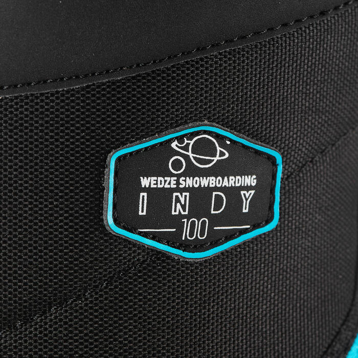 Chaussures de snowboard enfant à serrage rapide all mountain/freestyle, Indy 100