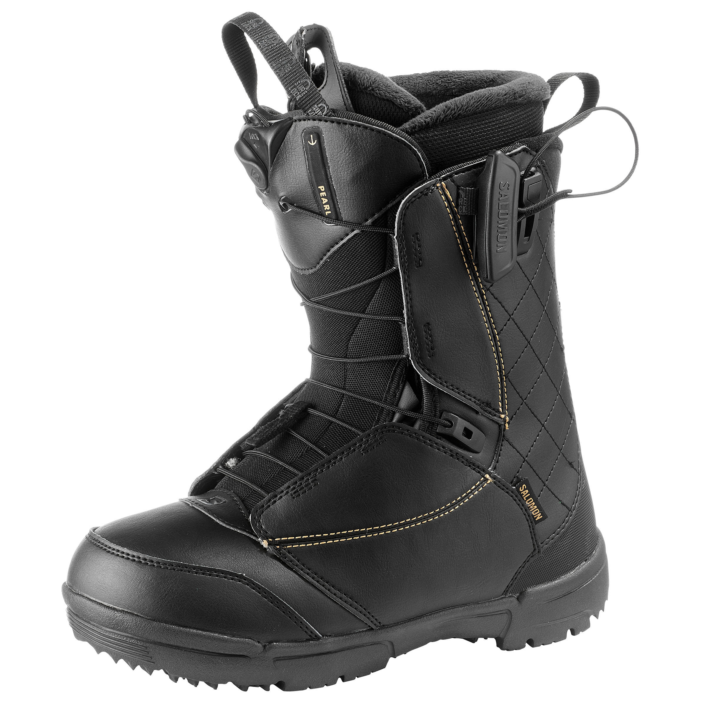 Salomon Snowboardboots all mountain dames Pearl Zone Lock zwart thumbnail