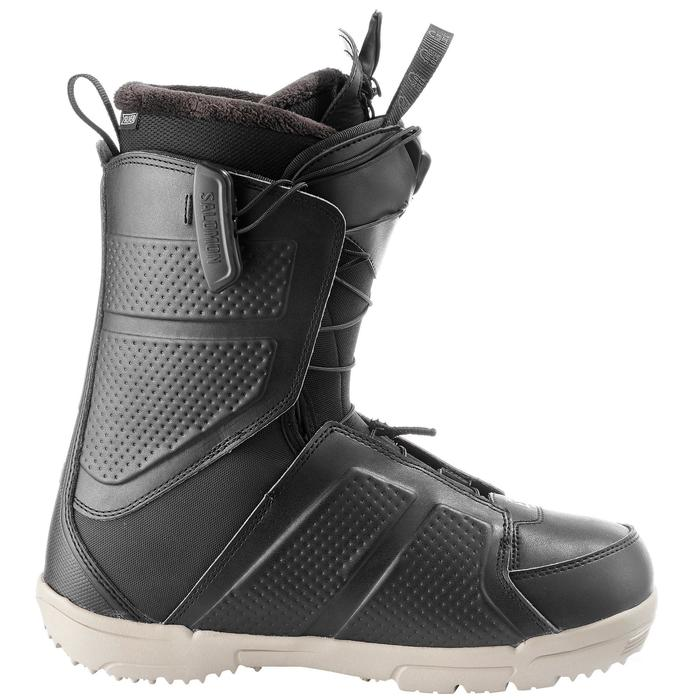 Chaussures de snowboard all mountain, homme, Faction zone lock, noire