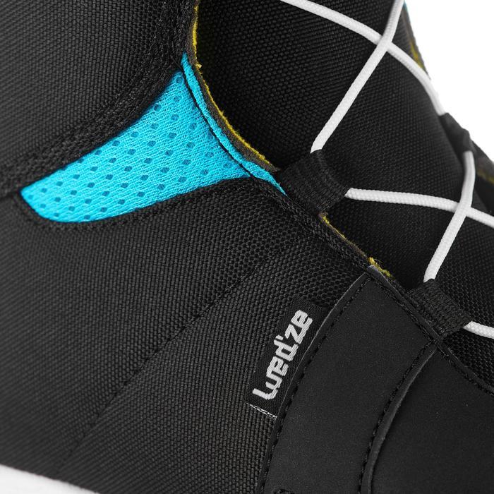 Snowboardboots voor kinderen all mountain/freestyle Indy 100 zwart/blauw