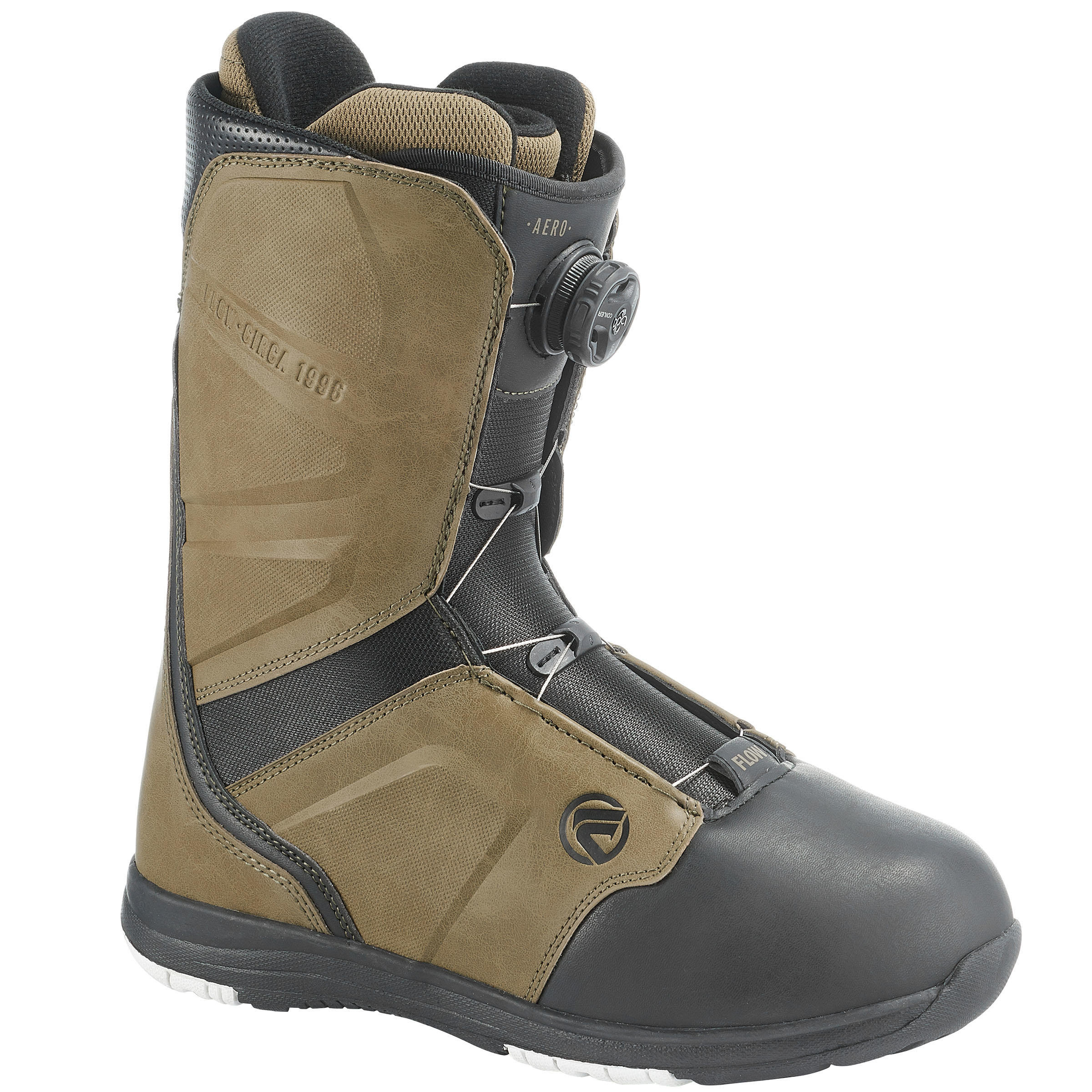 Flow Snowboard boots all mountain heren Aero Boa Coiler bruin thumbnail