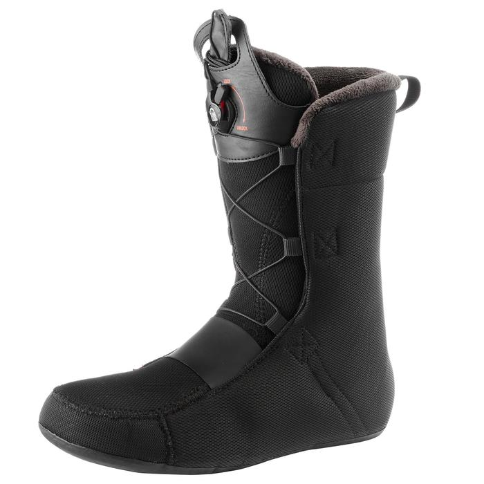 Snowboard boots all mountain heren Faction Zone Lock zwart