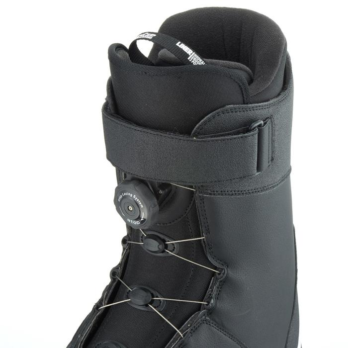 Chaussures de snowboard, all mountain, homme, Foraker 500 - Cable Lock 2Z noires - 1178831