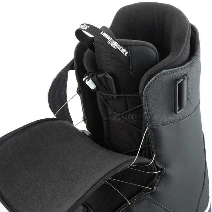 Chaussures de snowboard, all mountain, homme, Foraker 500 - Cable Lock 2Z noires - 1178839