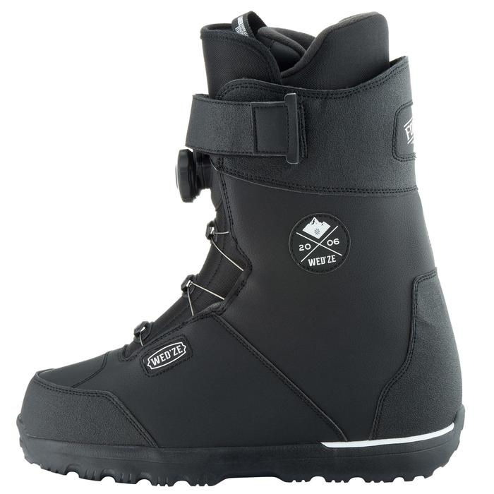 Chaussures de snowboard, all mountain, homme, Foraker 500 - Cable Lock 2Z noires - 1178845