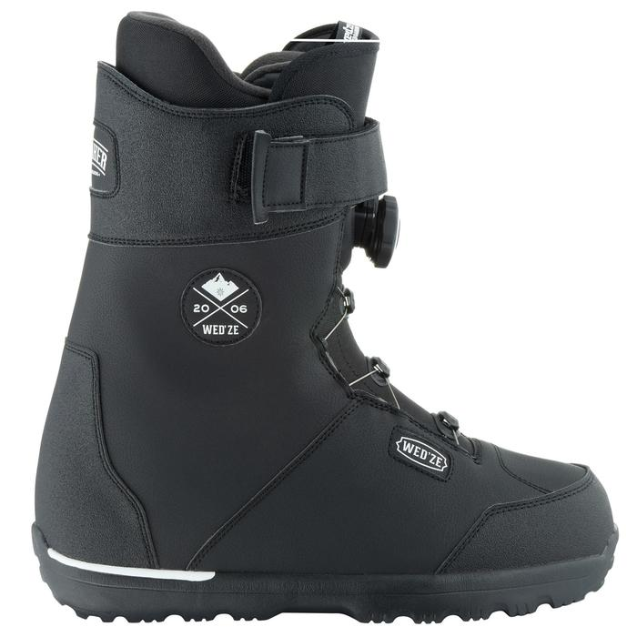 Chaussures de snowboard, all mountain, homme, Foraker 500 - Cable Lock 2Z noires - 1178847