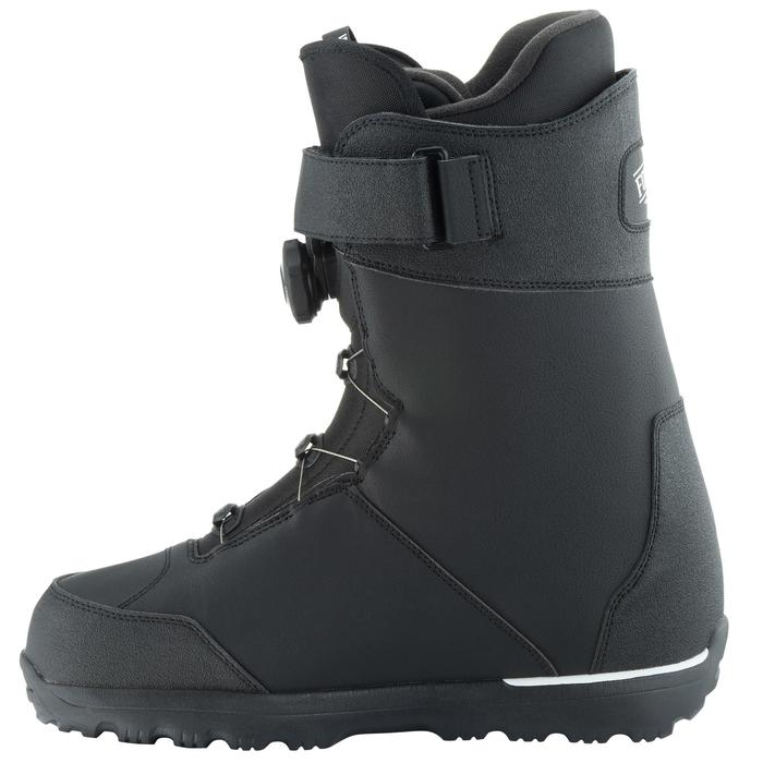 Chaussures de snowboard, all mountain, homme, Foraker 500 - Cable Lock 2Z noires - 1178849