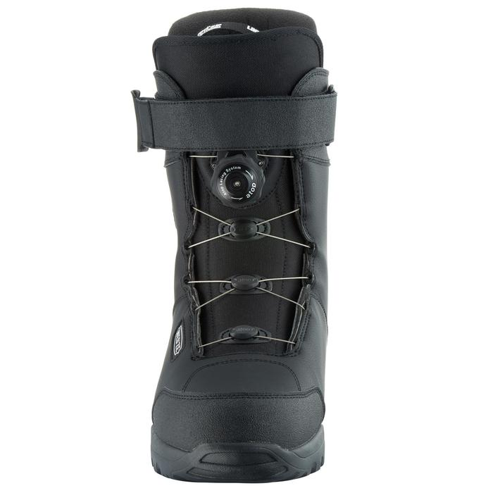 Chaussures de snowboard, all mountain, homme, Foraker 500 - Cable Lock 2Z noires - 1178852