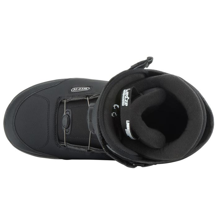 Chaussures de snowboard, all mountain, homme, Foraker 500 - Cable Lock 2Z noires - 1178855