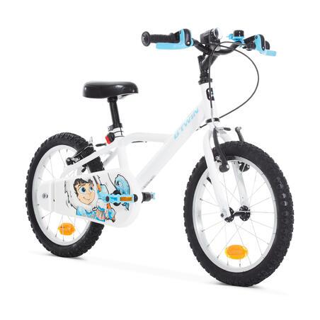 Vélo de 16pouces 100Inuit – Enfants de 4ans1/2 à 6ans