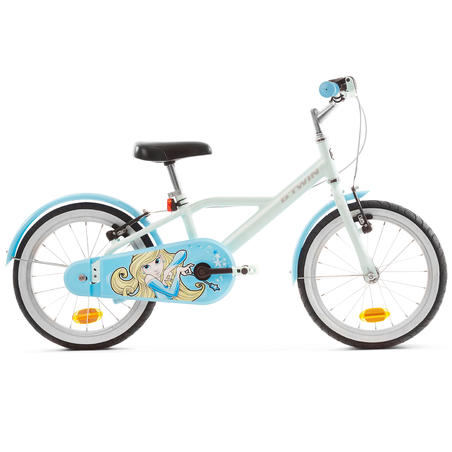 500 Blue Princes 16-Inch Bike 4-6 Years