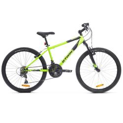 "Mountainbike 24"" Rockrider 500 Kinder neongelb"