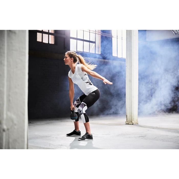 Chaussure de cross training femme noir et blanche Strong 900 - 1178953