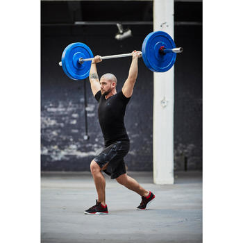Fitnessschuhe Cross Strong 900 Fitness Cross Herren schwarz/rot