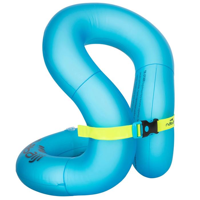 Inflatable Swim Vest - Blue Size M (50-75 kg)
