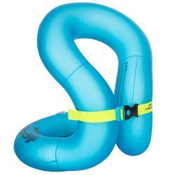 充氣套頭游泳背心 - 藍色,M號(50-75 kg)