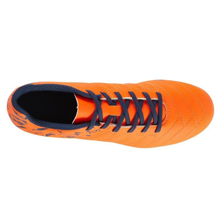 Chaussure de football enfant terrains secs Agility 300 FG bleue - 1179065