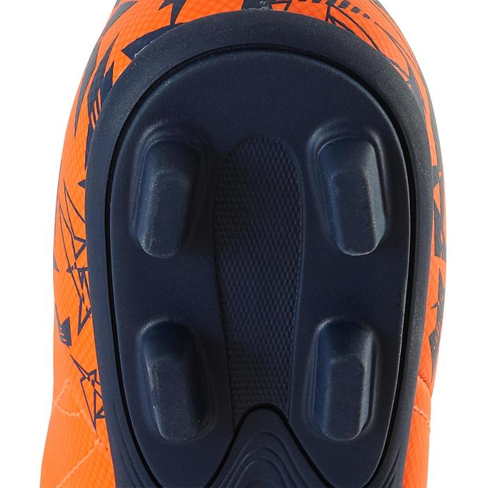 Chaussure de football enfant terrains secs Agility 300 FG bleue - 1179076