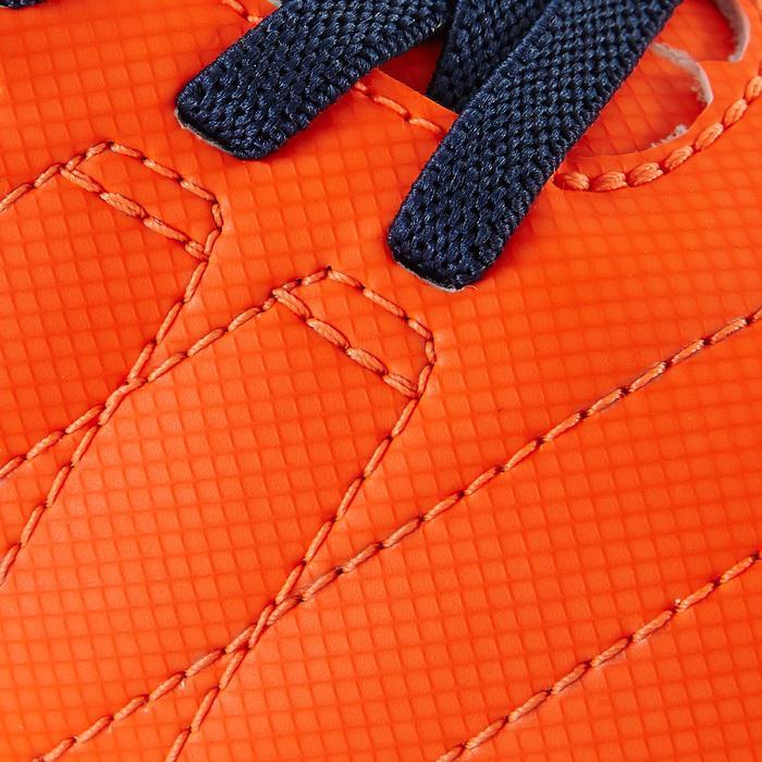 Chaussure de football enfant terrains secs Agility 300  FG à scratch bleue - 1179079