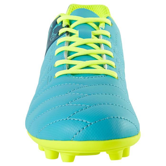 Chaussure de football enfant terrains secs Agility 300 FG bleue - 1179087