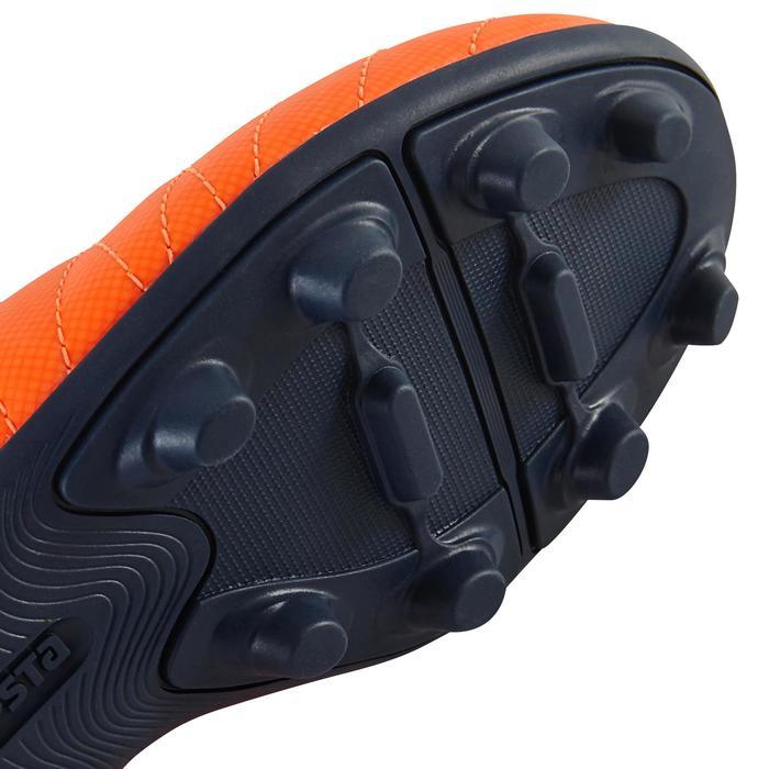 Chaussure de football enfant terrains secs Agility 300  FG à scratch bleue - 1179091