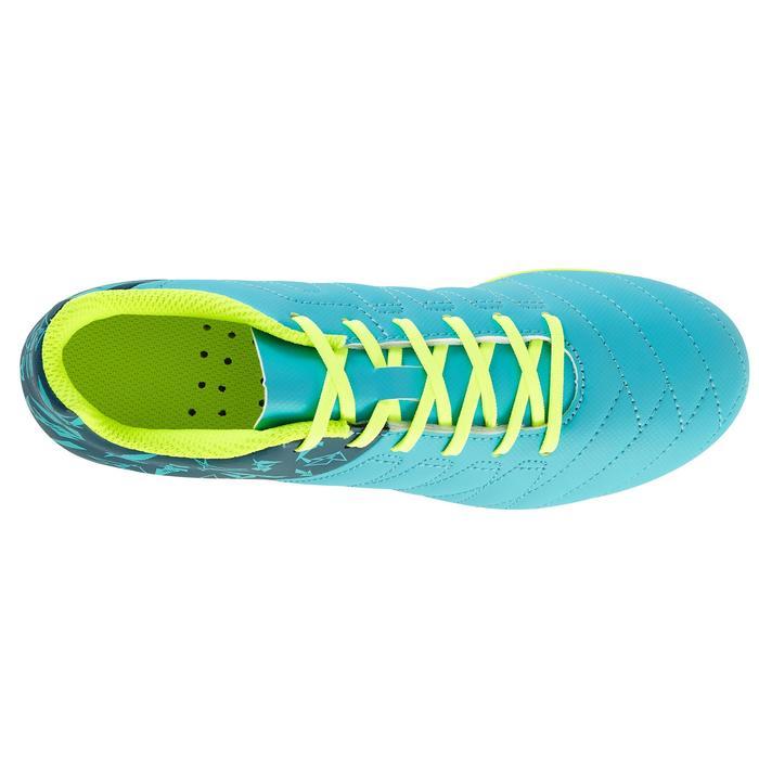 Chaussure de football enfant terrains secs Agility 300 FG bleue - 1179122