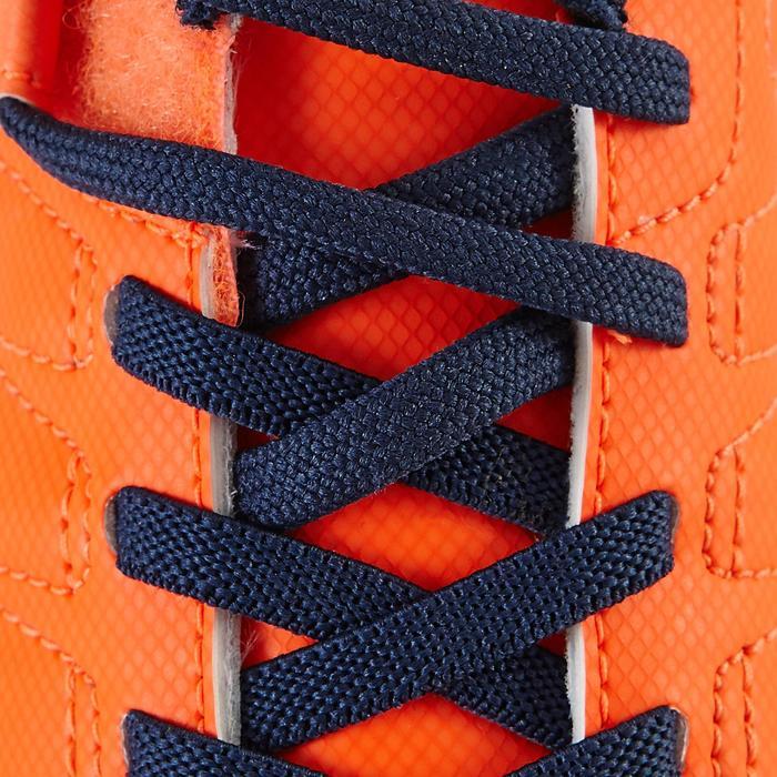 Chaussure de football enfant terrains secs Agility 300  FG à scratch bleue - 1179128