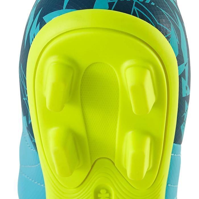 Chaussure de football enfant terrains secs Agility 300 FG bleue - 1179144