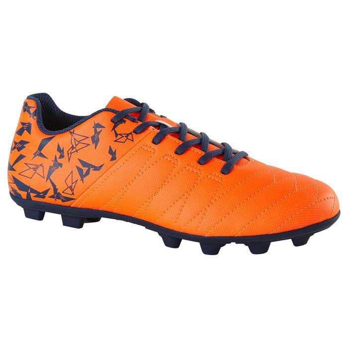 Chaussure de football enfant terrains secs Agility 300 FG bleue - 1179151
