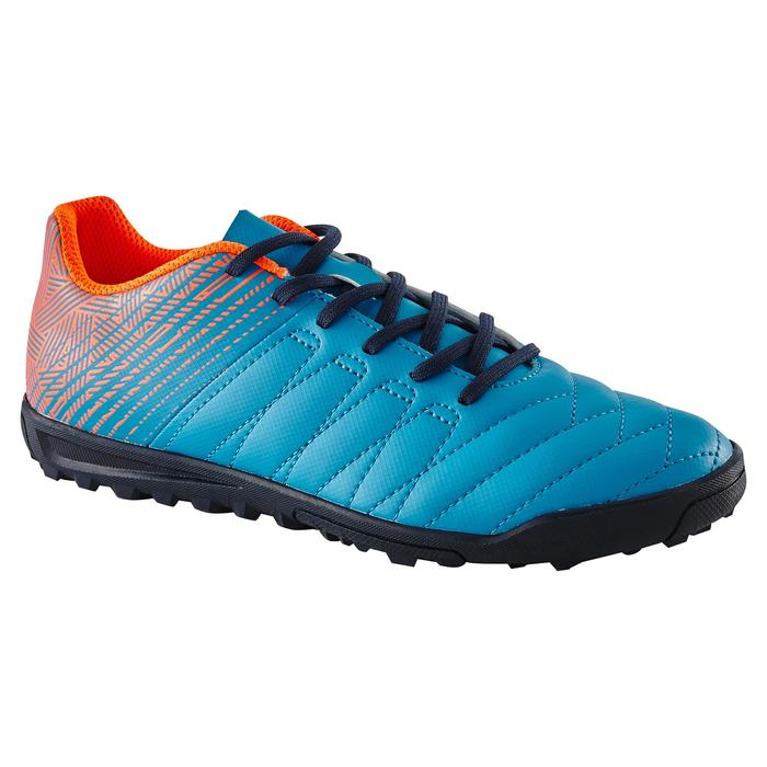Chaussure de football enfant terrains durs CLR 500 HG bleue - 1179338