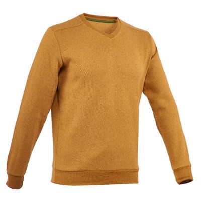 סוודר לטיולים לגברים NH150 - צהוב אוכרה