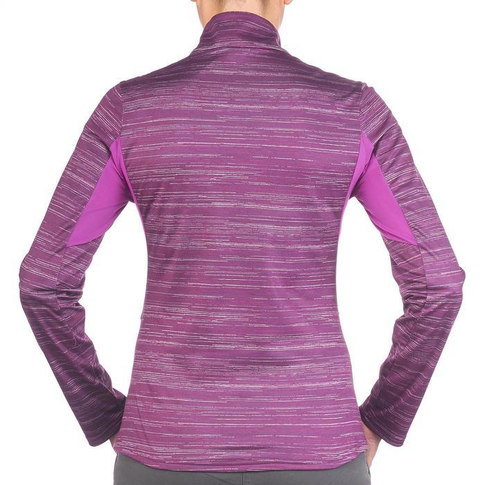 Tee-shirt de randonnée neige manches longues femme SH500 warm - 1179484