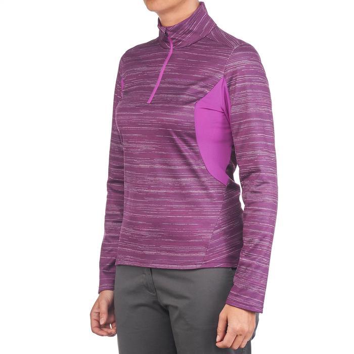 Tee-shirt de randonnée neige manches longues femme SH500 warm - 1179513