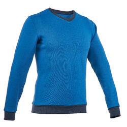 Jersey Montaña Senderismo Quechua NH150 Hombre Azul Claro
