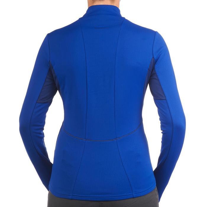 Langarmshirt SH500 Active Warm Damen blau