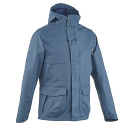 Waterproof jacket for country walks - Rain jacket NH550 - Men's