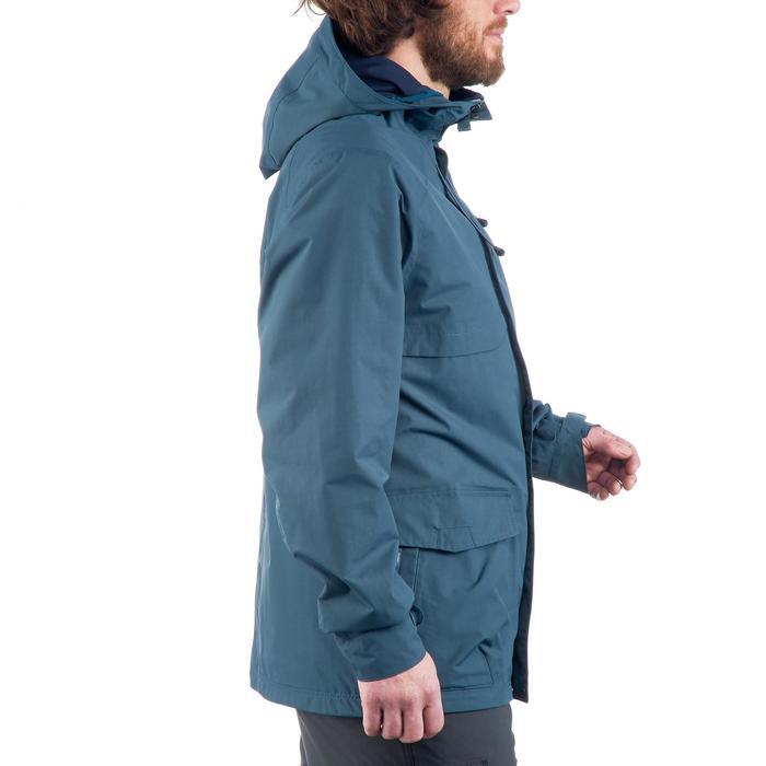 Veste Imperméable randonnée nature homme NH400 gris