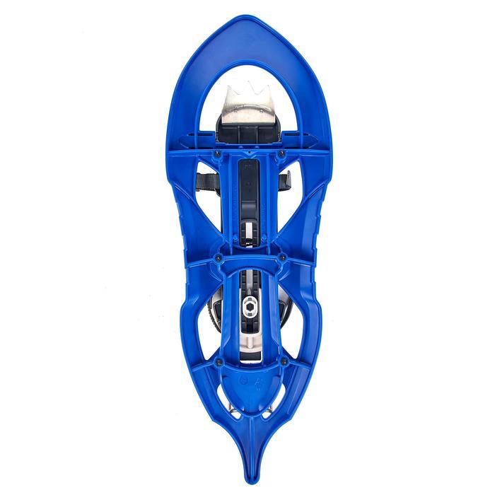 Sneeuwschoenen met groot frame TSL 226 Evo blauw