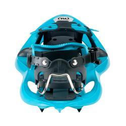 Raquetas Nieve Montaña Senderismo TSL Ride 305 Tamiz Pequeño Azul
