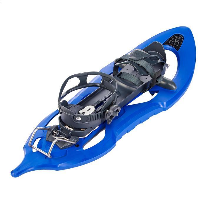Raquetas Nieve Montaña Senderismo TSL 206 EVO Tamiz Grande Azul