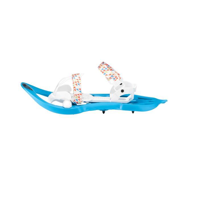 Raquetas Nieve Montaña Senderismo TSL 302 Freeze Niños Azul
