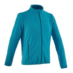 Forclaz 200 Men's Mountain Hiking Fleece Jacket - Duck Blue
