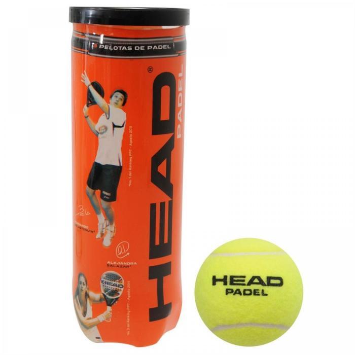 Balles de padel Head 3B Jaune - 1179738