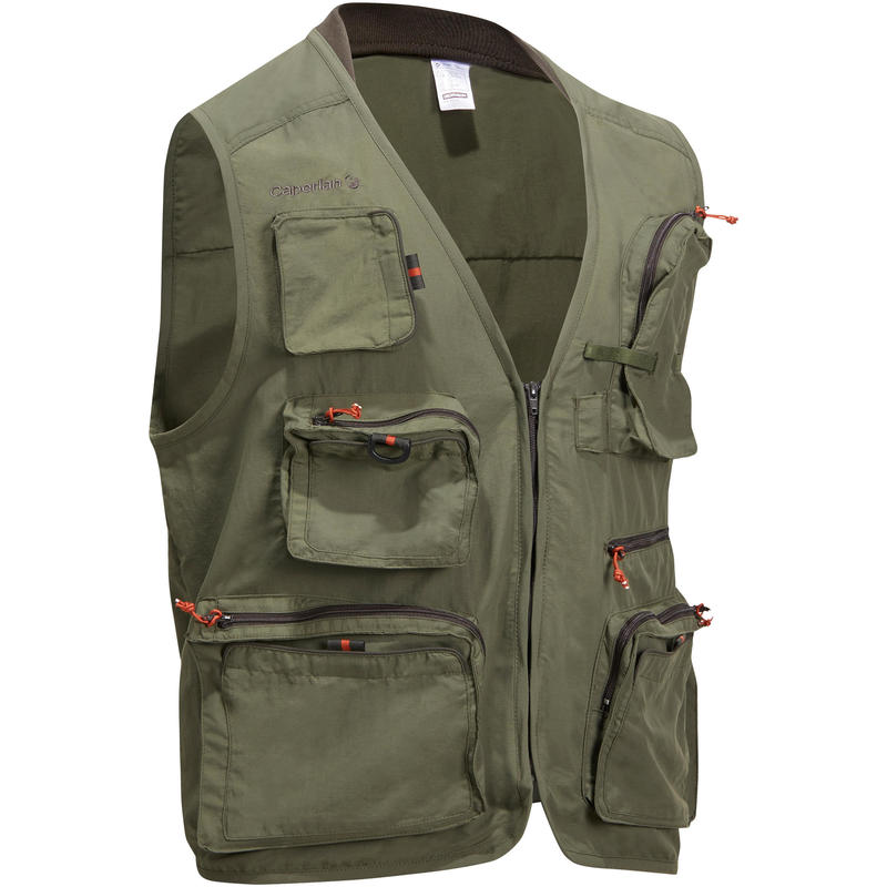 Fishing jacket-5 KHAKI