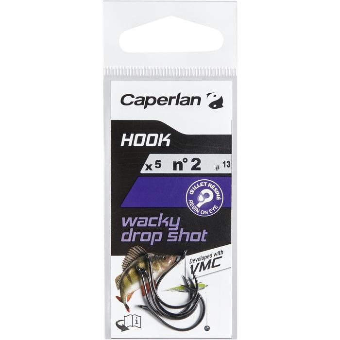 Enkele haak hengelsport Hook Wacky Dropshot 2