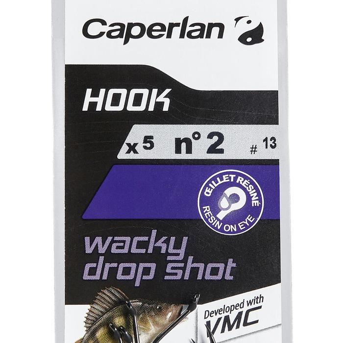 ANZUELO SIMPLE DE PESCA HOOK WACKY DROPSHOT 2