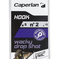 Haken Wacky Dropshot 2 Einfachhaken