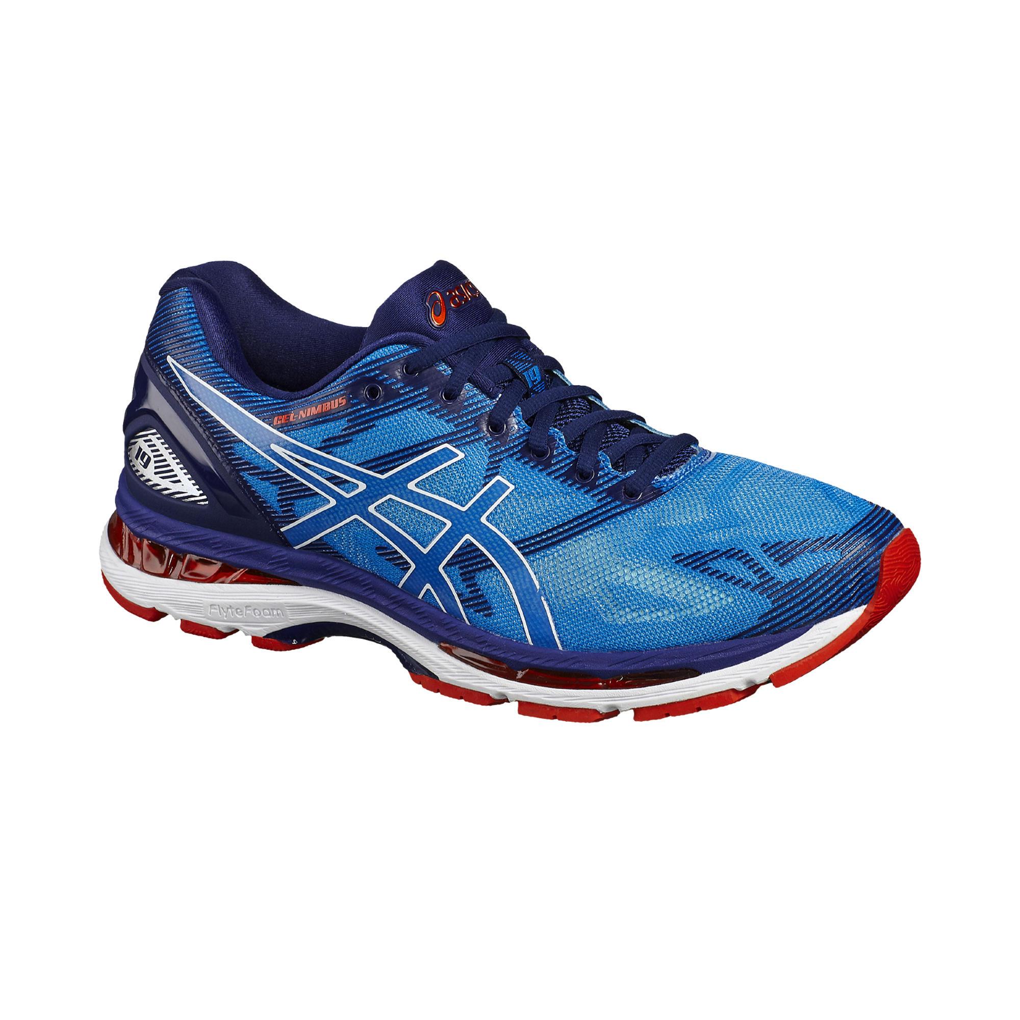Gel 19 Running Chaussures Bleu Nimbus Homme Asics RSc54LAqj3